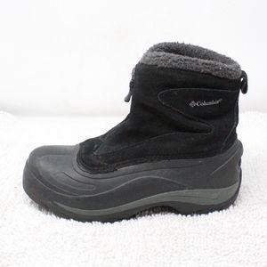 Columbia Cascadian Snowchill Black Boots Size 7.5